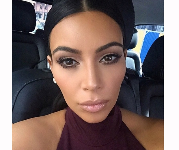 Kim Kardashian's Cannes make-up looked stunning