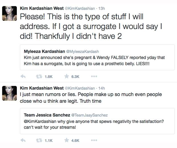 kim kardashian twitter rant about pregnancy