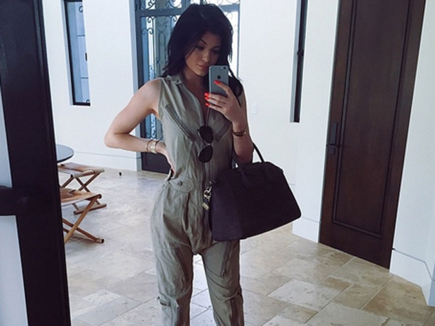 Kylie Jenner instagram selfie