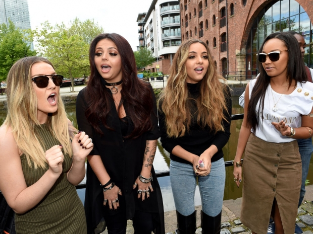 Little Mix perform in Manchester