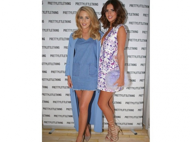 Lydia Rose Bright and Lucy Mecklenburgh