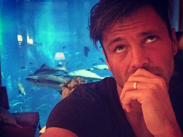 Mark Wright shows off his wedding ring on Instagram
