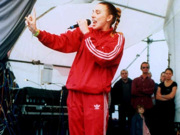 Mel C in the 90s
