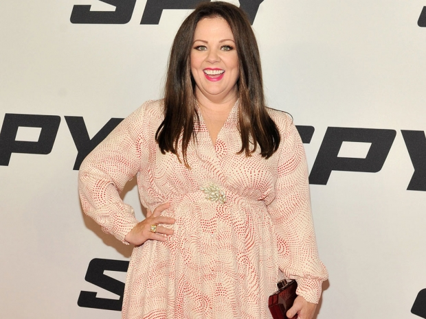 Melissa McCarthy at the New York premiere of Spy