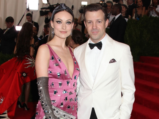 Olivia Wilde and Jason Sudeikis at the Met Gala in New York