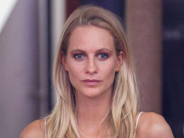 Poppy Delevingne with her old highlighted locks