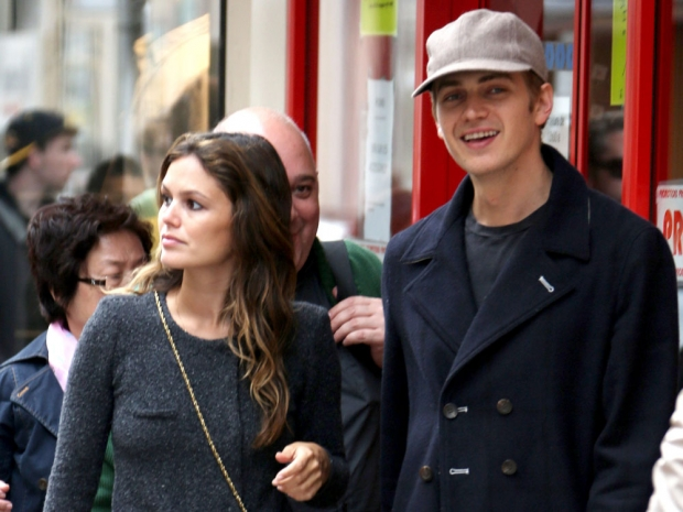 Rachel Bilson and Hayden Christensen out in Cannes, France