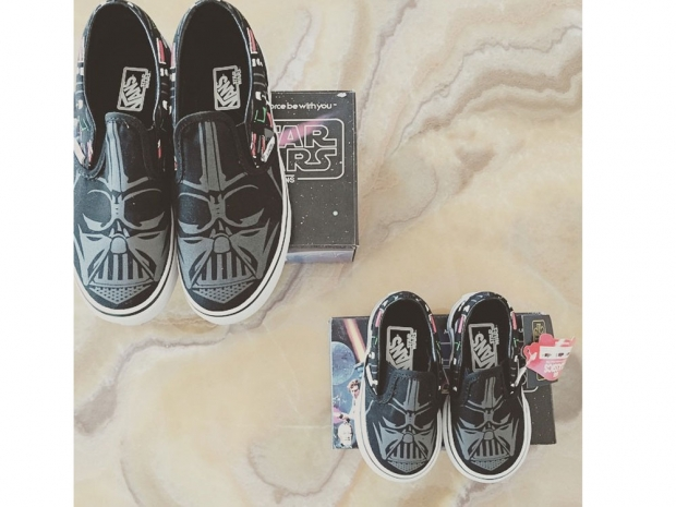 Rachel Bilson's photo of Vans on Instagram