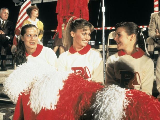 Grease cheerleaders