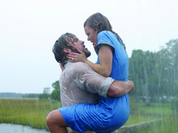 A still from The Notebook.