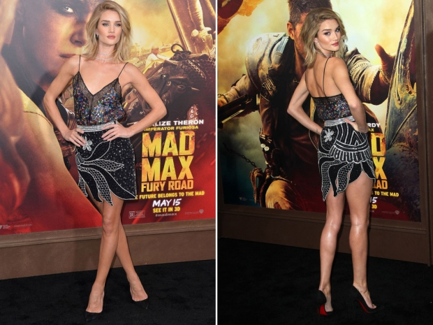 Rosie Huntington-Whiteley at the Mad Max LA premiere.