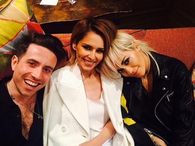 Rita Ora and her fellow X Factor judges