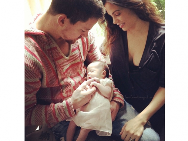 Channing Tatum, wife Jenna Dewan and daughter Everly Tatum