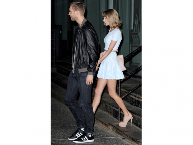 Taylor Swift and Calvin Harris out in New York