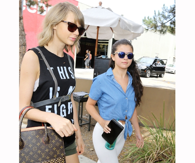 taylor swift and selena gomez out to lunch