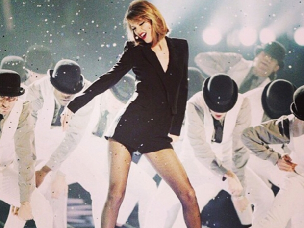 Taylor and Calvin reportedly met at the BRITs after-party