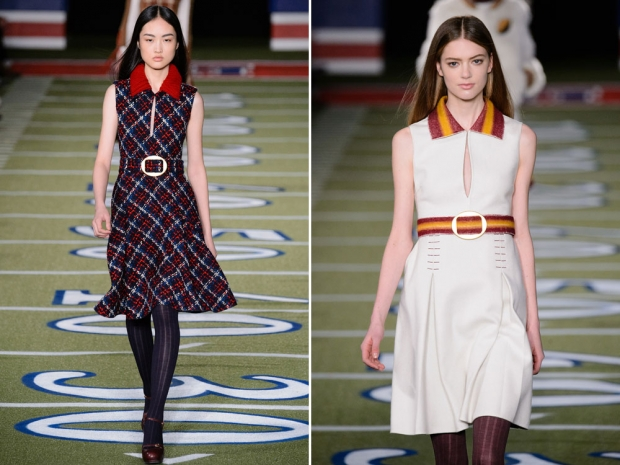 Tommy Hilfiger's autumn/winter 2015 catwalk.