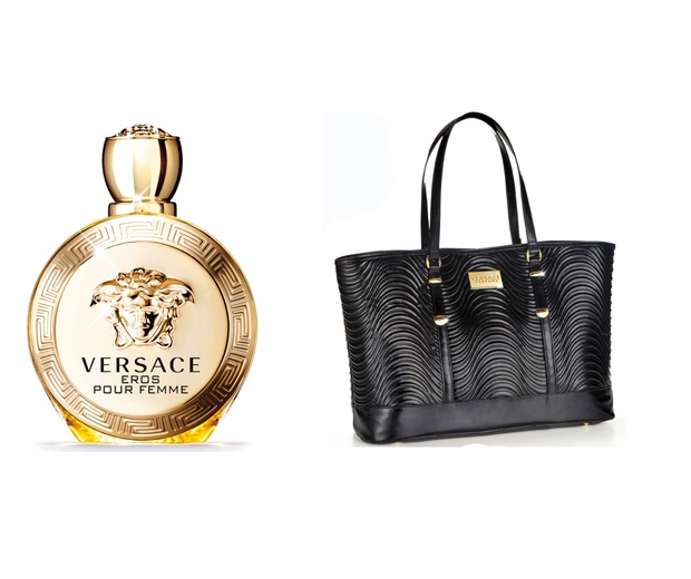 Versace Eros Pour Femme Eau de Parfum with Complimentary Bag