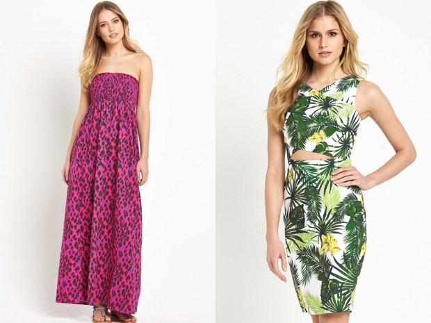 Maxi dresses and cut-out frocks all have up to 50% off at Very.co.uk