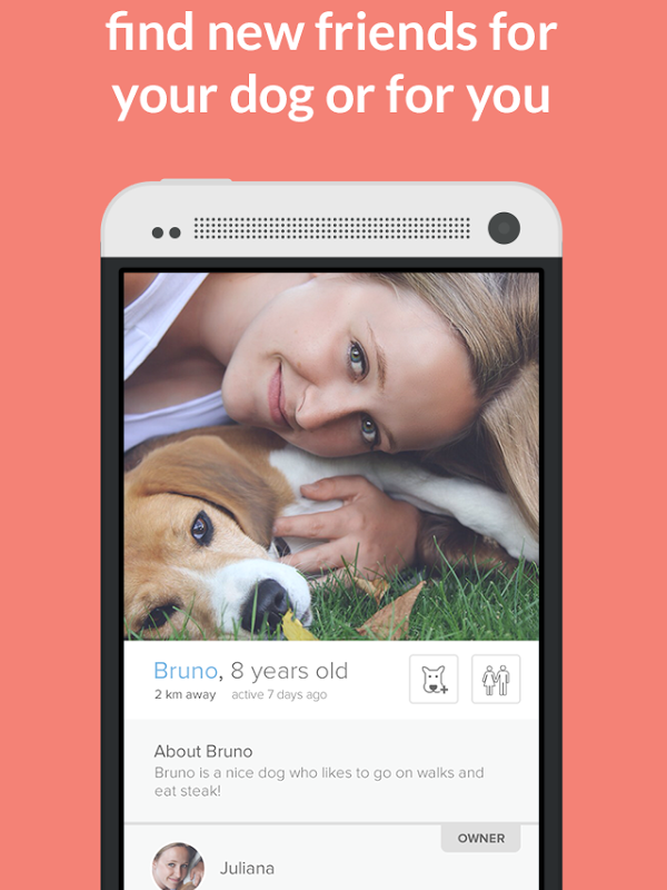 Tindog: the new dating app for dogs and their owners