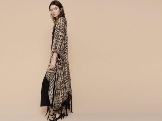 Pull & Bear's printed kimono.