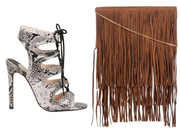Sandal, £32, Bag, £28