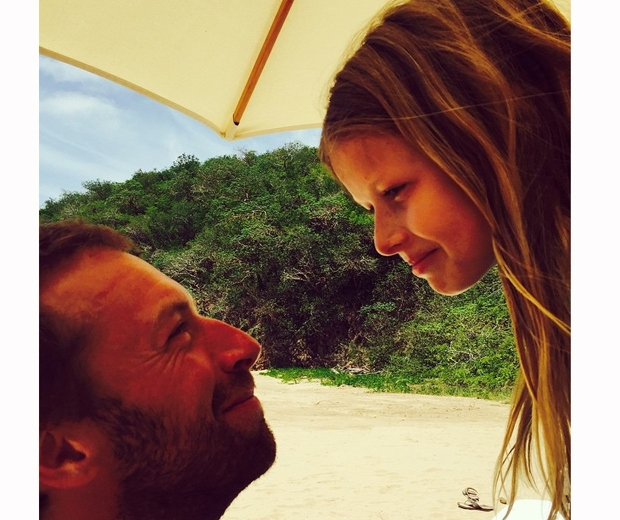 Gwyneth Paltrow and Chris Martin mexico holiday