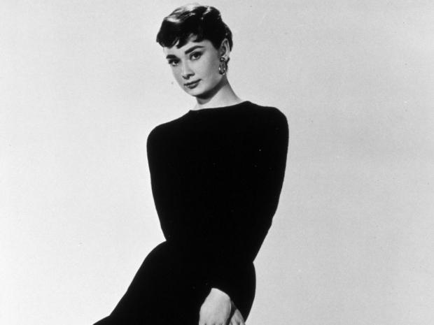 Audrey Hepburn in film Sabrina