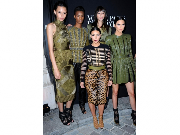 The Balmain Army Came Into Full Effect With Kim And Kendall, 2014