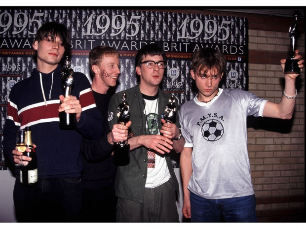 Blur at the 1995 Brit Awards