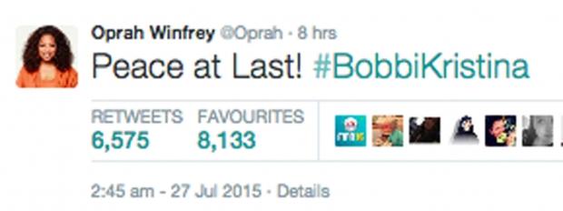 Oprah Bobbi Kristina
