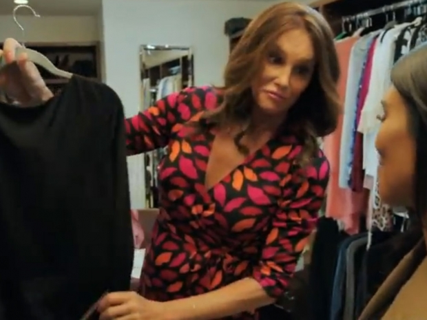 Caitlyn Jenner and Kim Kardashian in the trailer for documentary I Am Cait