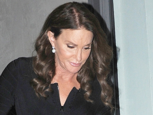 Caitlyn Jenner with glowy make-up in New York