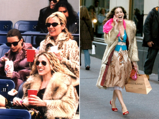 Carrie Bradshaw in Sex & The City.