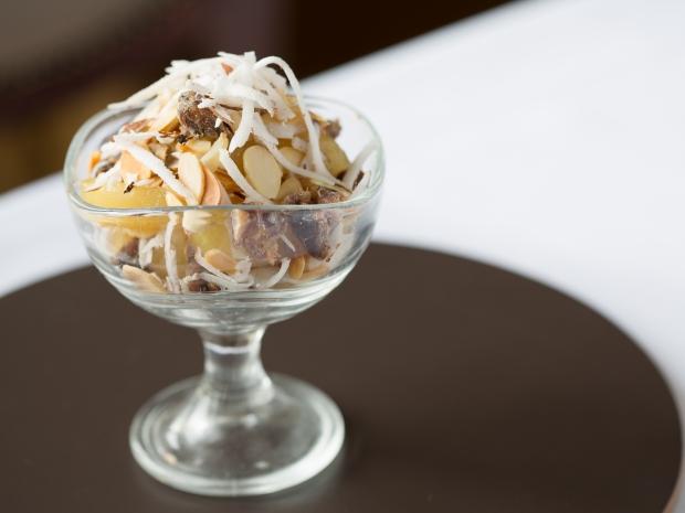 Healthy Pudding Recipes: Pear Crumbles