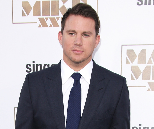 channing tatum at magic mike xxl premiere