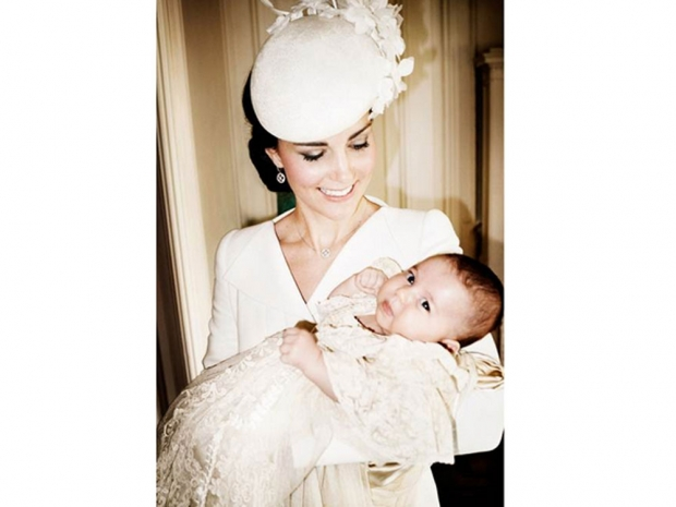 Princess Charlotte with Kate Middleton Duchess of Cambridge