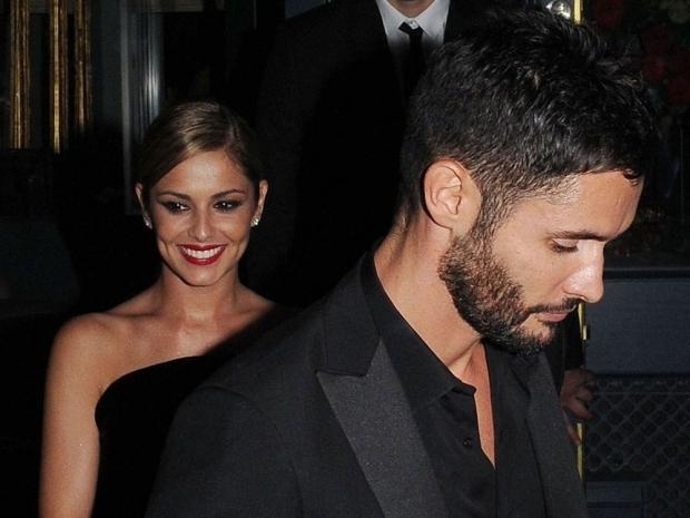 Cheryl Fernandez-Versini and husband Jean-Bernard