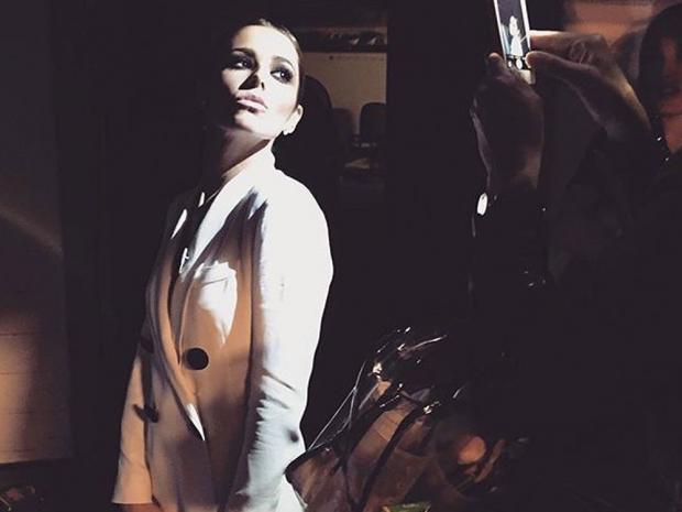 Cheryl Fernandez-Versini at The X Factor auditions in London