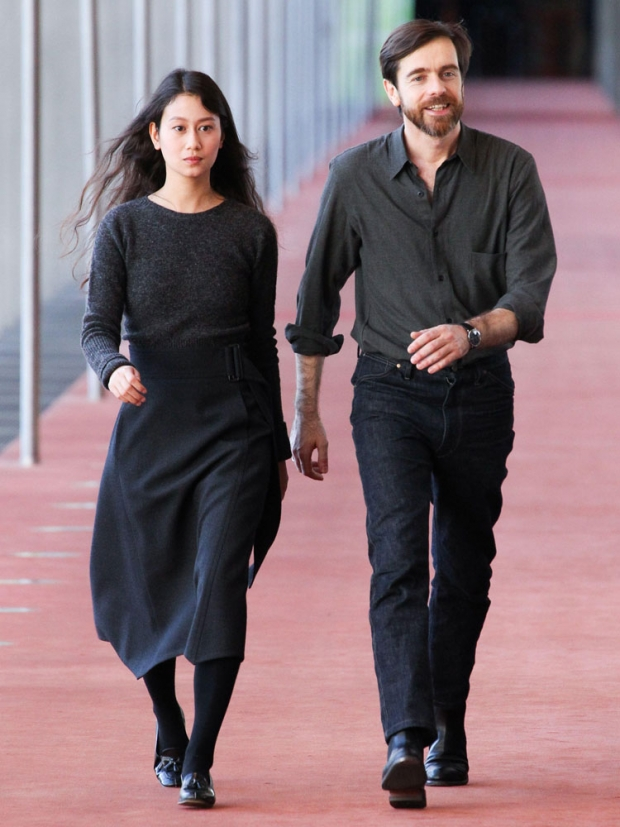 Christophe Lemaire and Sarah-Linh Trans