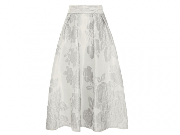 Silver skirt, coast, £129