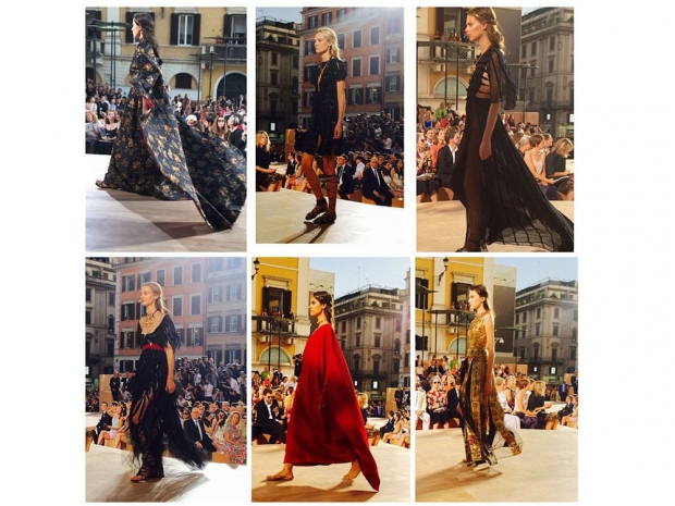 Some amazing looks from the Valentino Couture show.