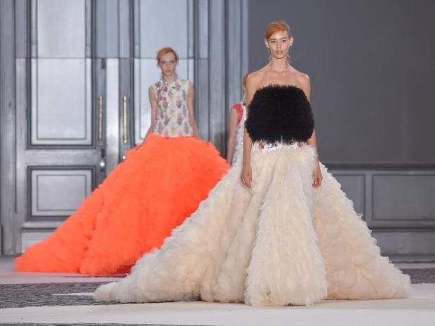 Giambattista Valli Couture AW15 finale dresses