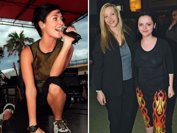 Natalie Imbruglia, Lisa Kudrow and Christina Ricci