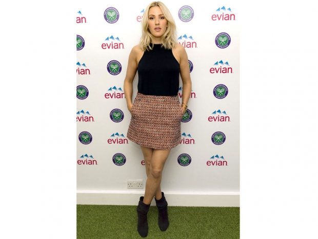 Ellie Goulding at Wimbledon
