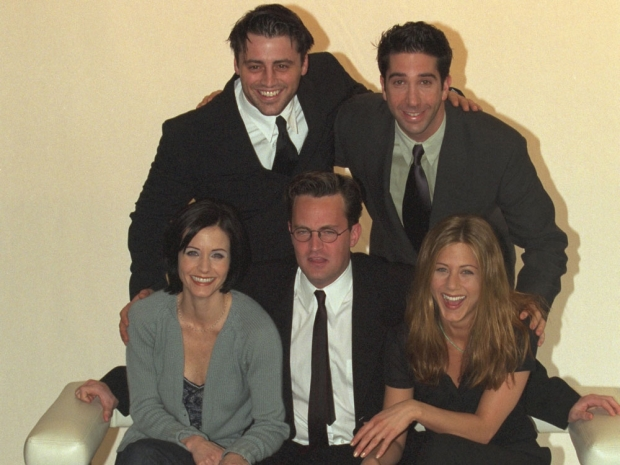 The Friends cast in 1998