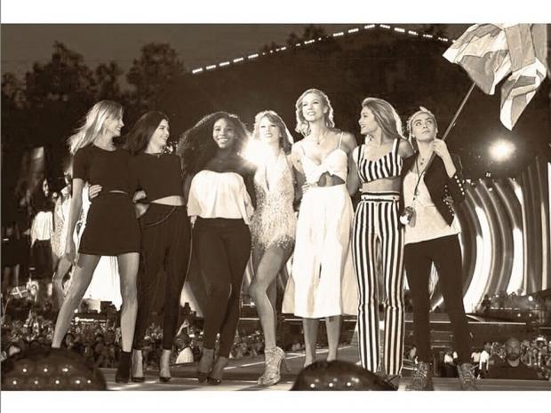 Gigi Hadid and friends