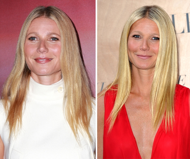 Gwyneth Paltrow hair transformation
