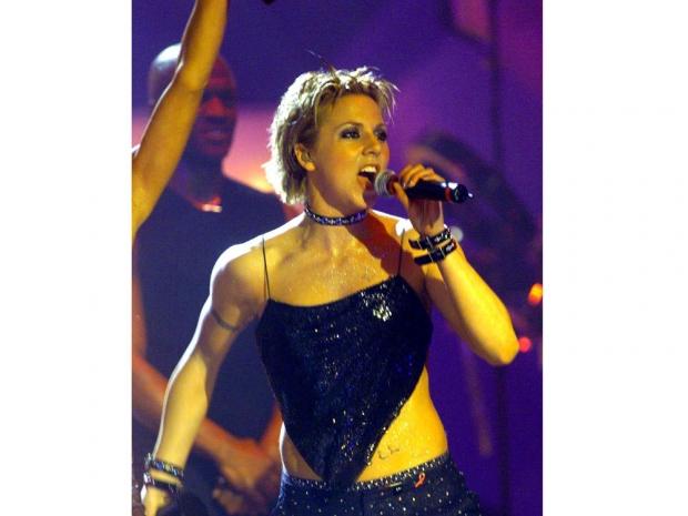 Mel C performing