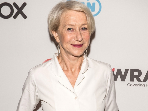 Helen Mirren at The Wrap event.
